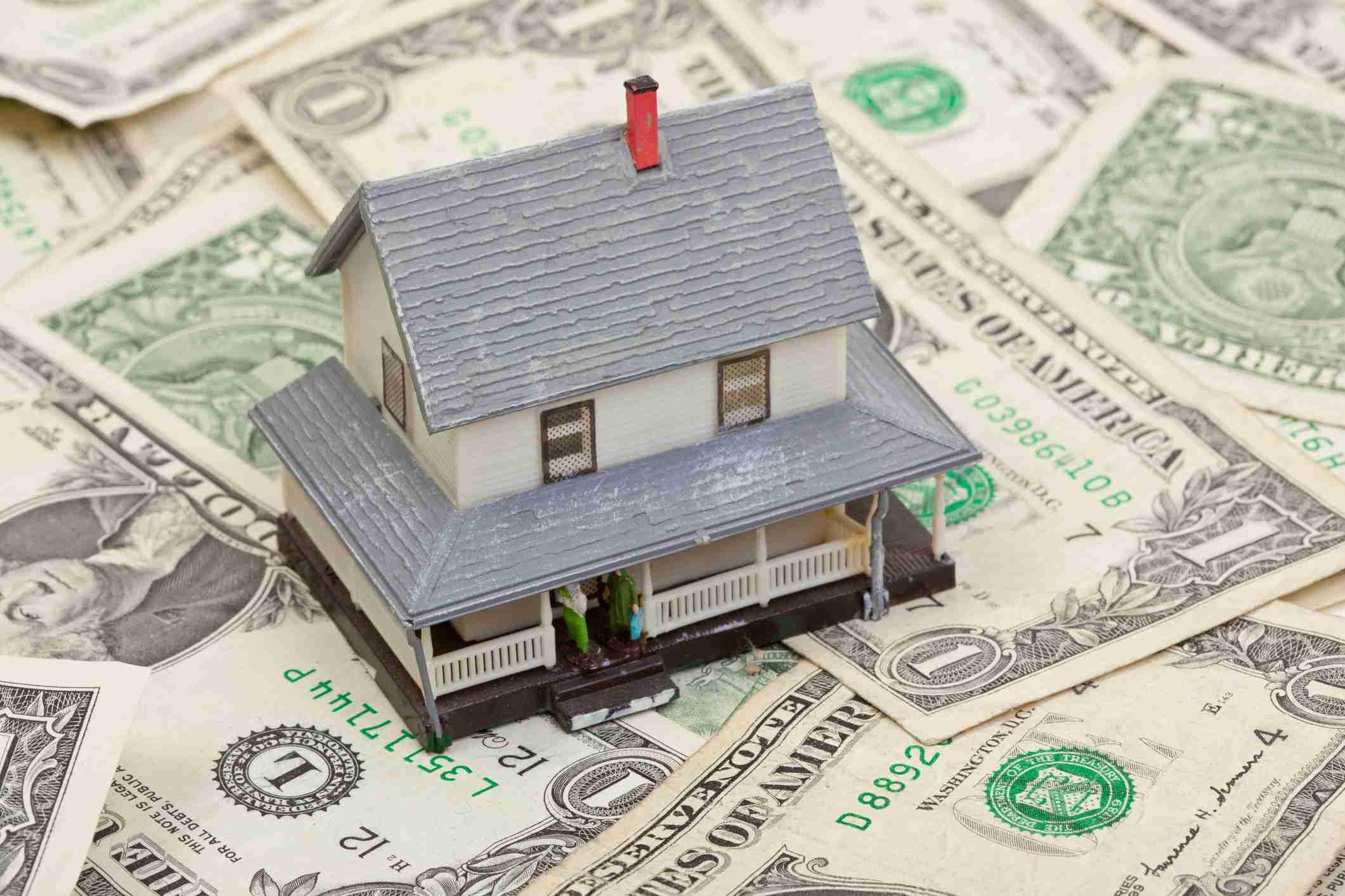 House on Dollar Bills