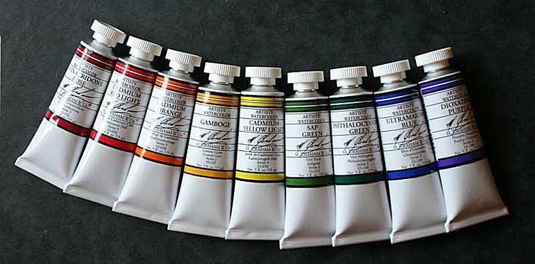 M Graham Watercolor Paints
