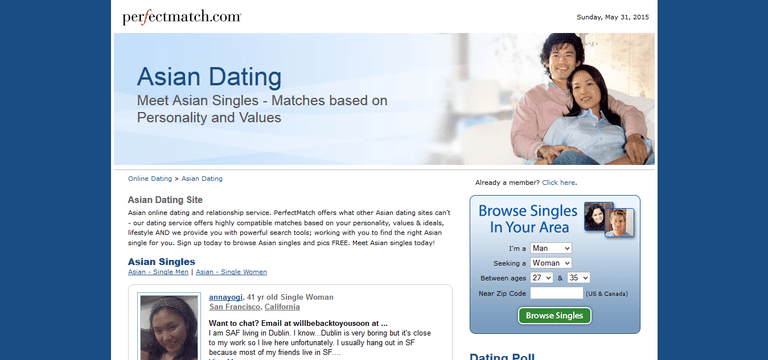 Perfectly free dating sites