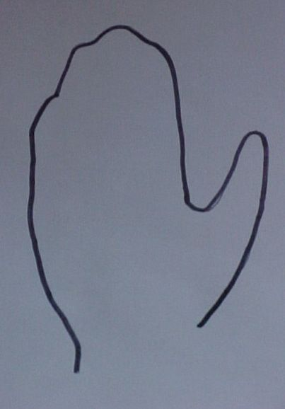 Trace Your Hand on a Piece of Paper