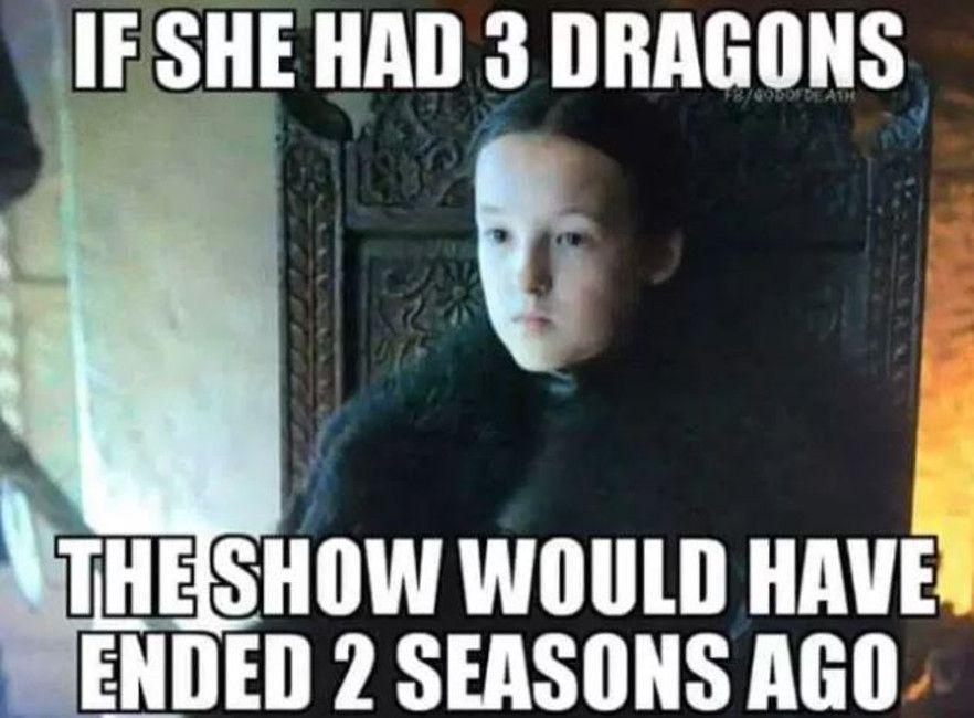 Lyanna Mormont meme