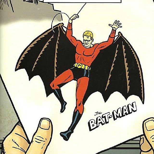 Rendering of one possible version of Batman