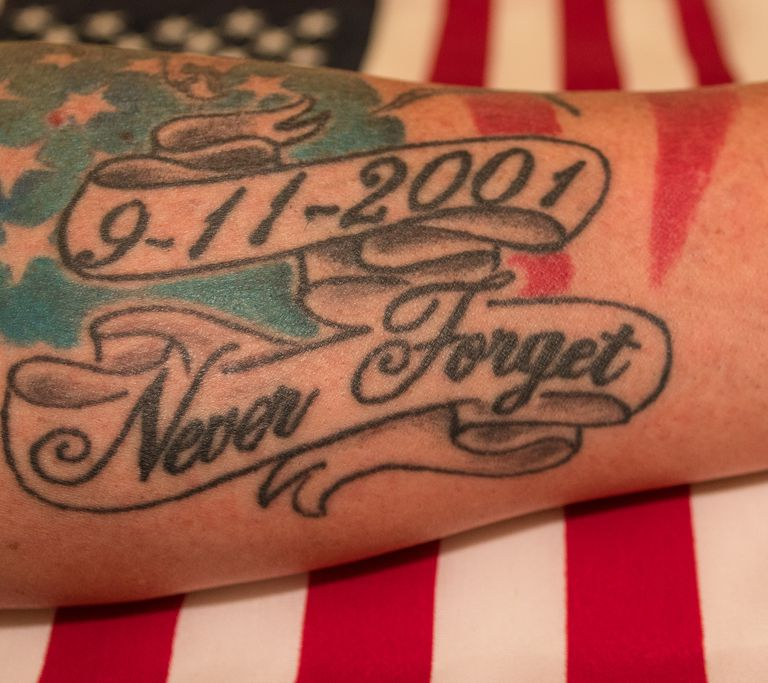 Memorial 9/11 tattoo