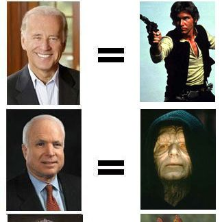 2008 Candidates as Star Wars characters