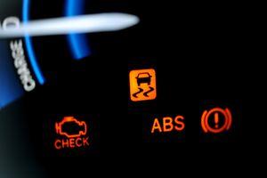 ABS lights on car dash