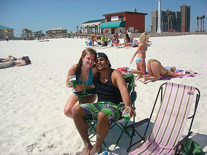 Beach photobombs