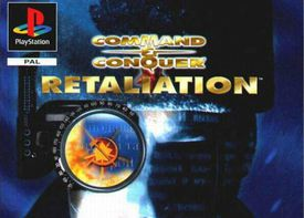 Command and Conquer Retaliation for PS1 cover cover