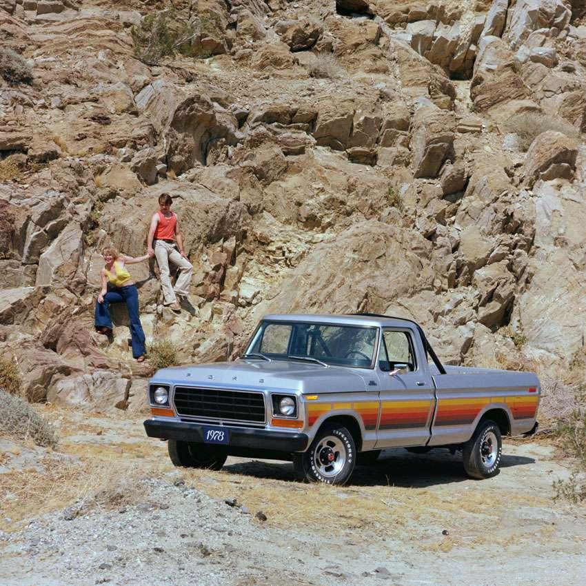 1978 Ford F-100 Custom Pickup Truck