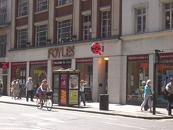 Foyle's on Charing Cross Road