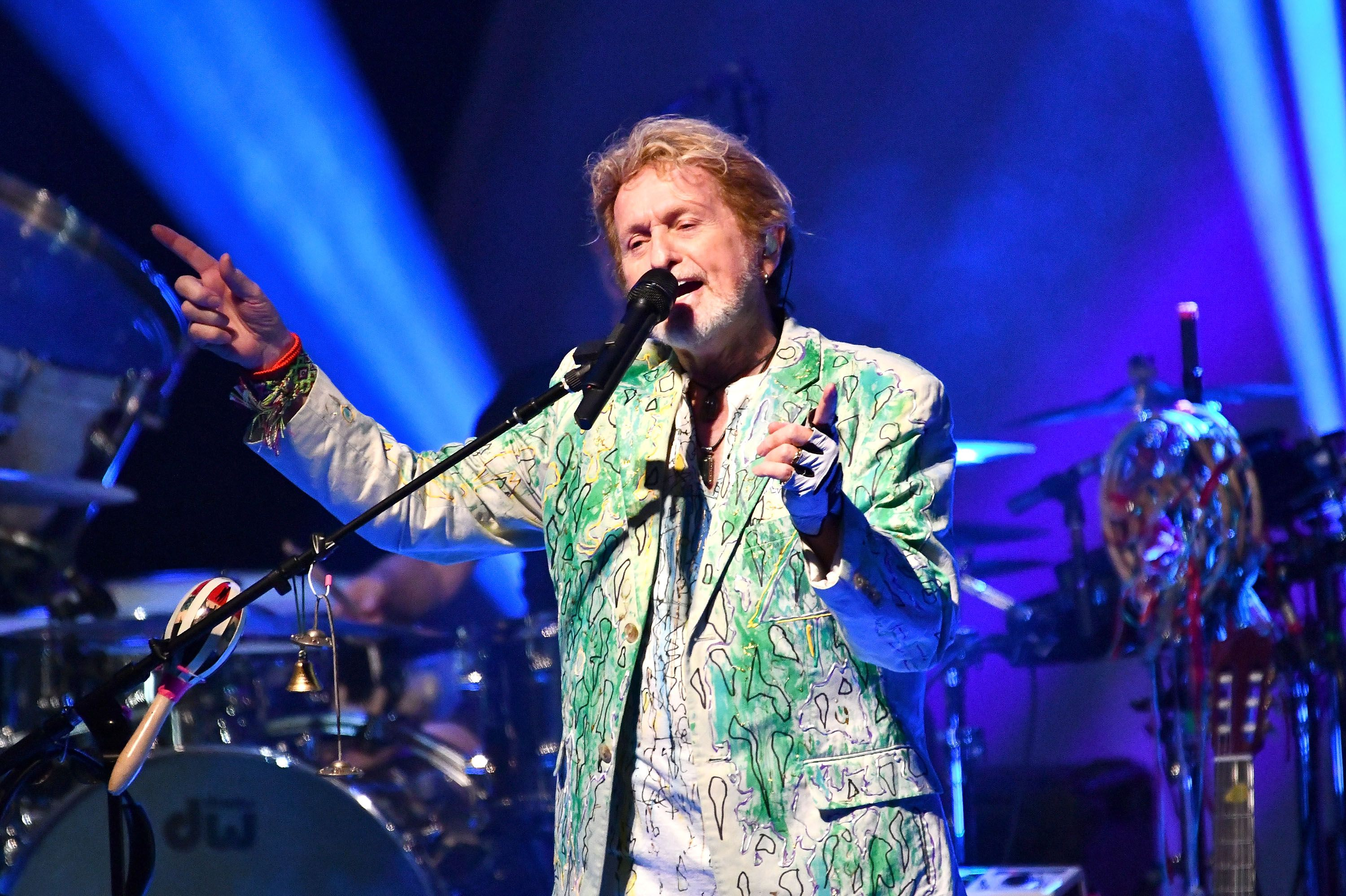 Rock and Roll Hall of Fame member Jon Anderson, singer of the classic rock band YES