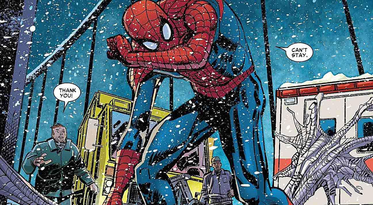 amazing spider man frost klaus janson