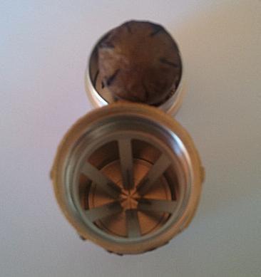 Shuriken Cigar Cutter and Cut