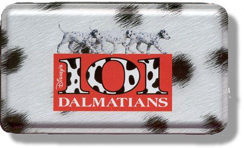 Crayon 101 Dalmatians Tin