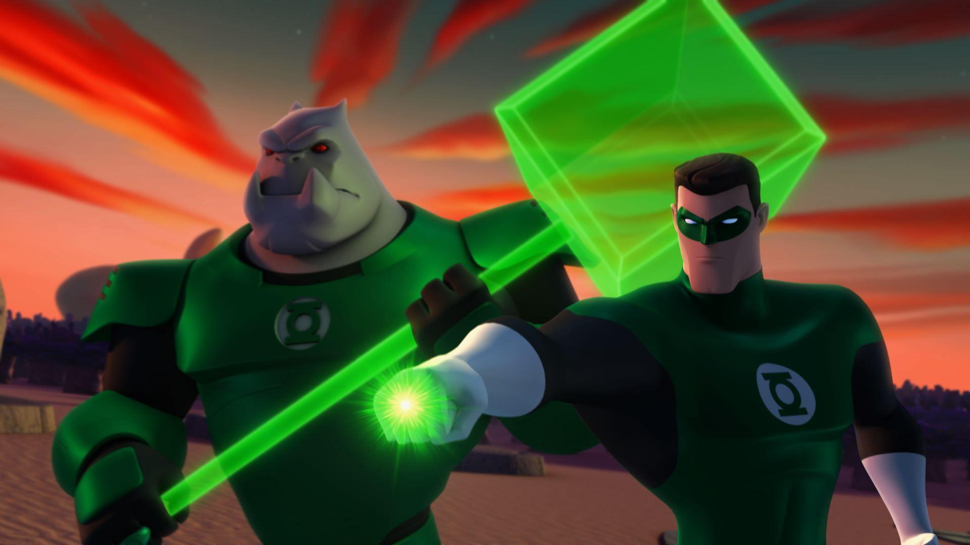 Still from Green Lantern: Animated Series