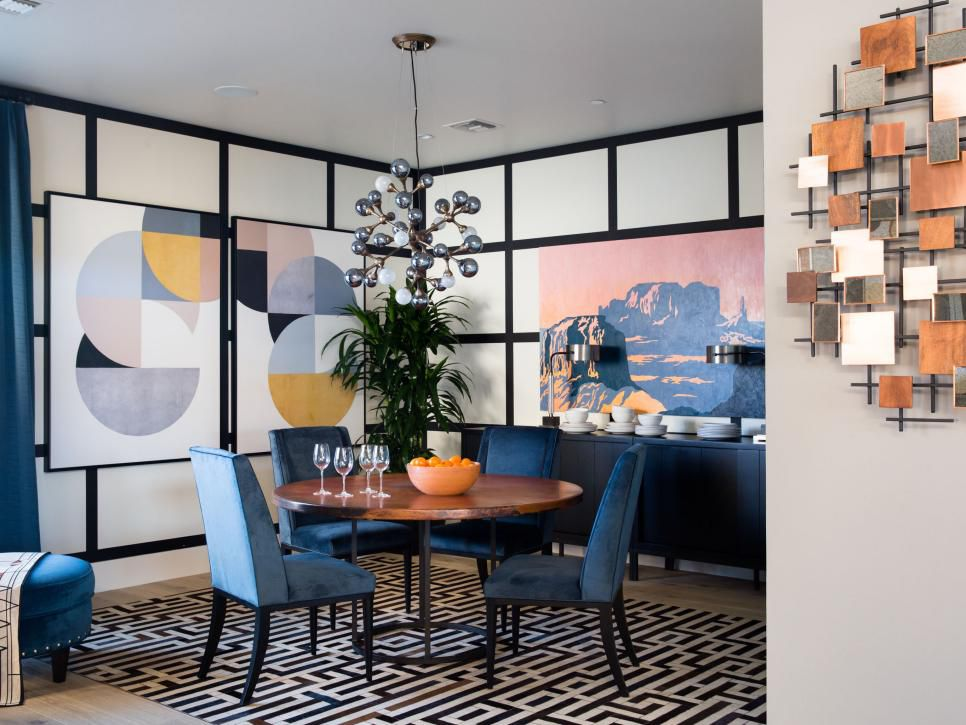 Image of the 2017 HGTV Smart Home's Dining Room