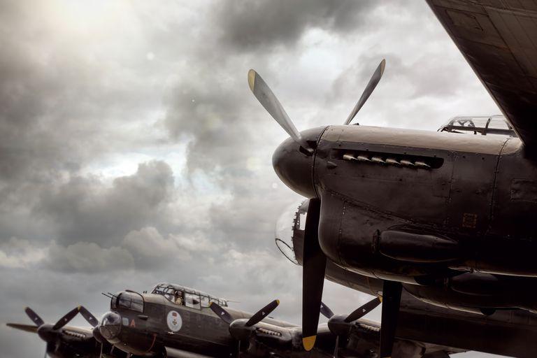 Lancaster Bomber aircraft