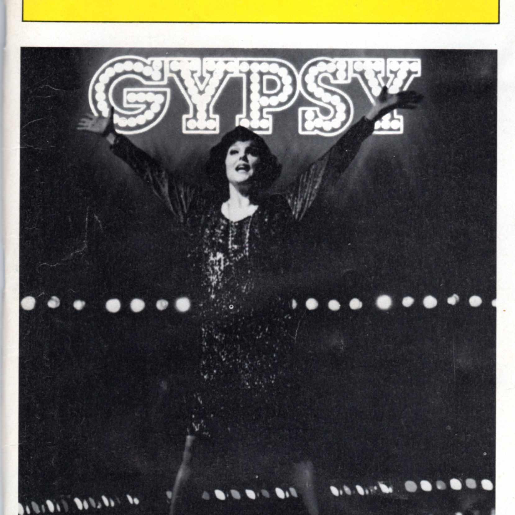 Gypsy Playbill cover