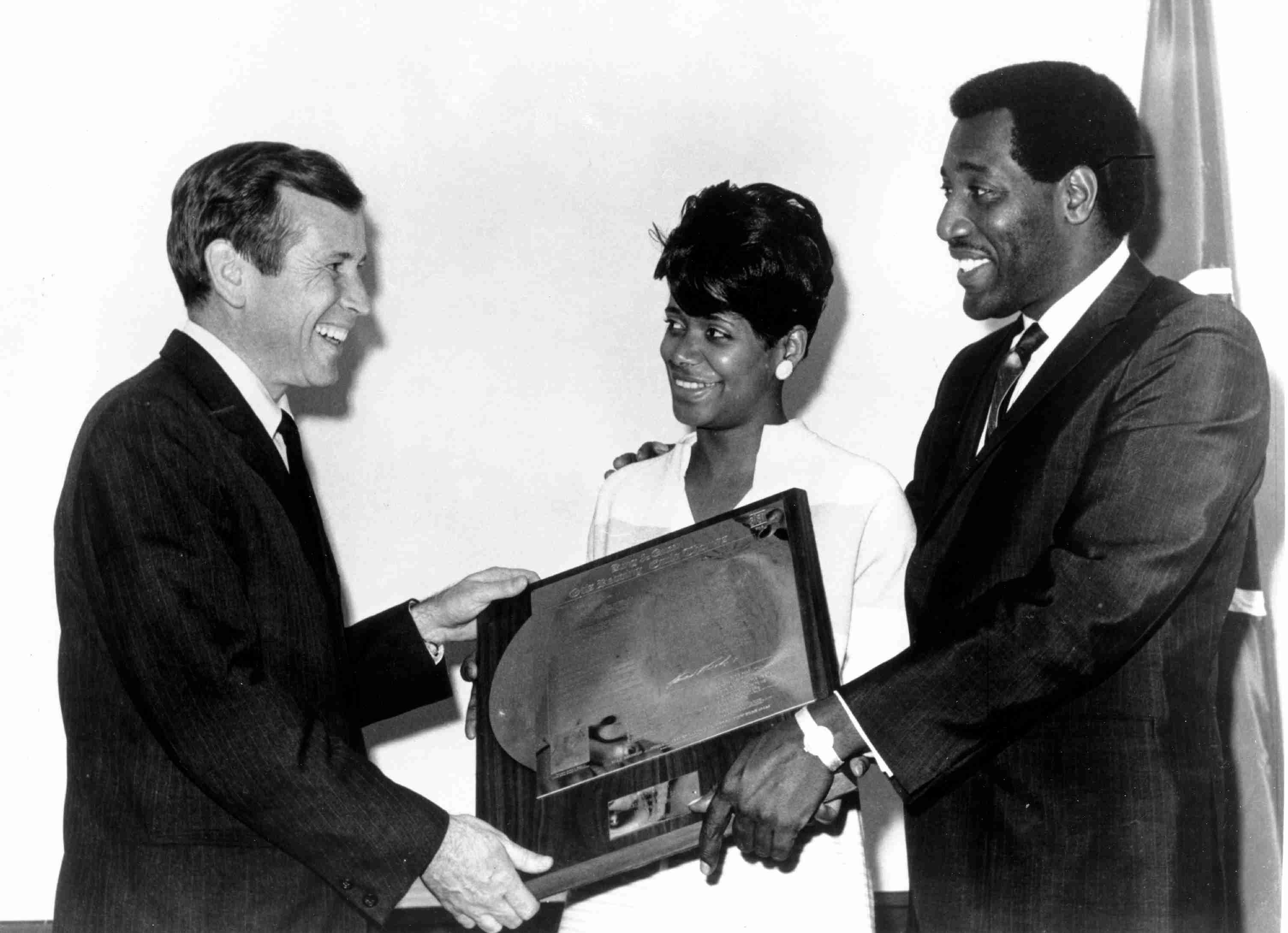 Senator Howard Baker with Carla Thomas & Otis Redding