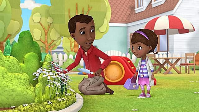 Doc McStuffins and Her Dad