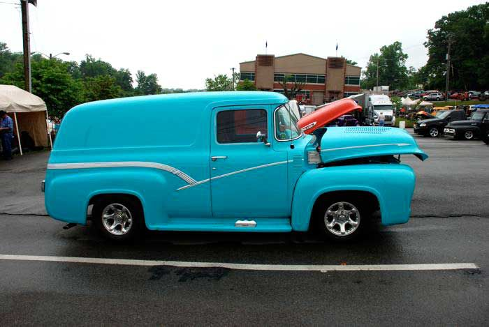 1956 Ford F-100 Panel Truck