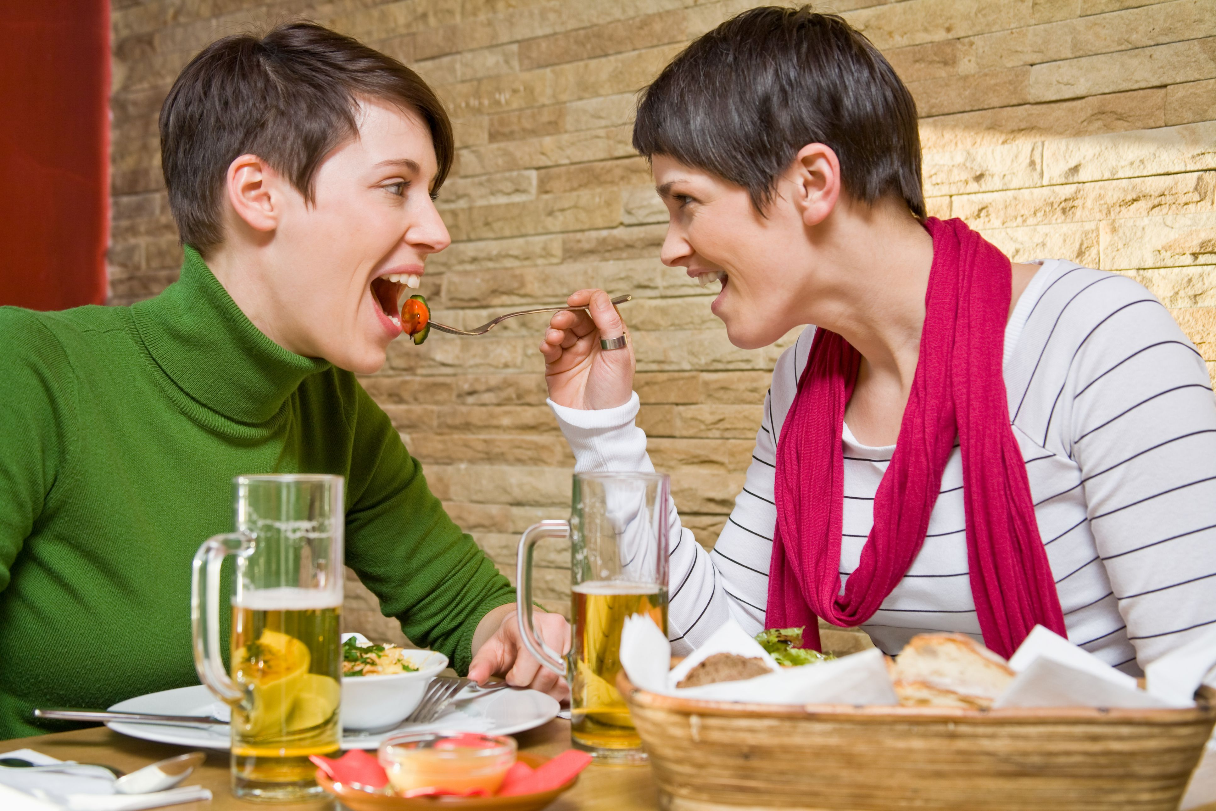 Lesbian Romantic Dinner