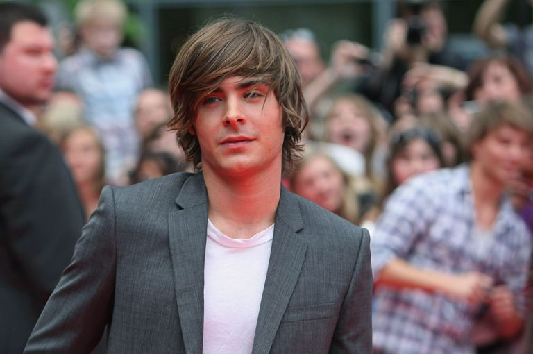 Actor Zac Efron arrives for the German premiere of '17 Again'