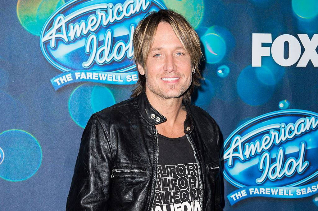 Singer Keith Urban attends Meet Fox's 'American Idol XV' Finalists