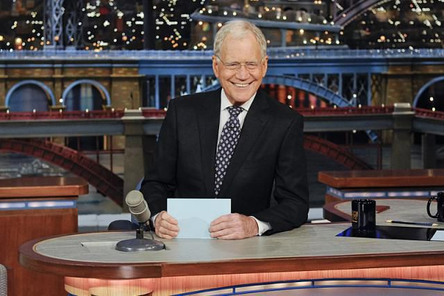 David Letterman on the Late Show