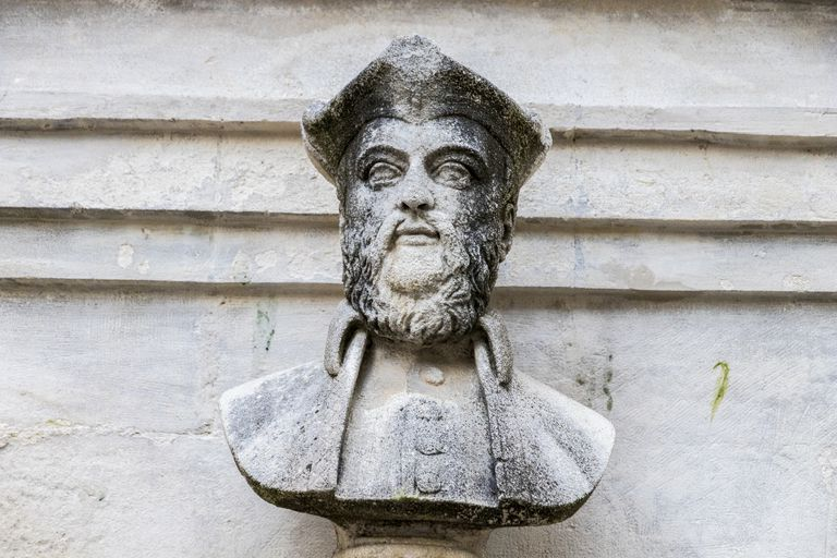 bust of Michel de Nostradame or Nostradamus