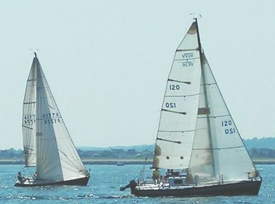 Sailboats with Inboard and Outboard Engines