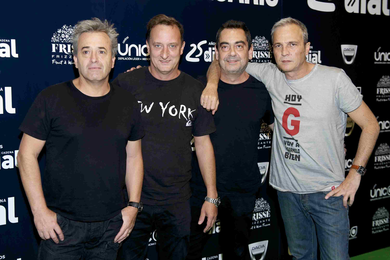 Latin rock band Hombres G