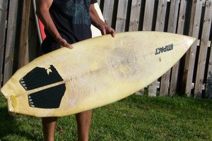 Old Surfboard