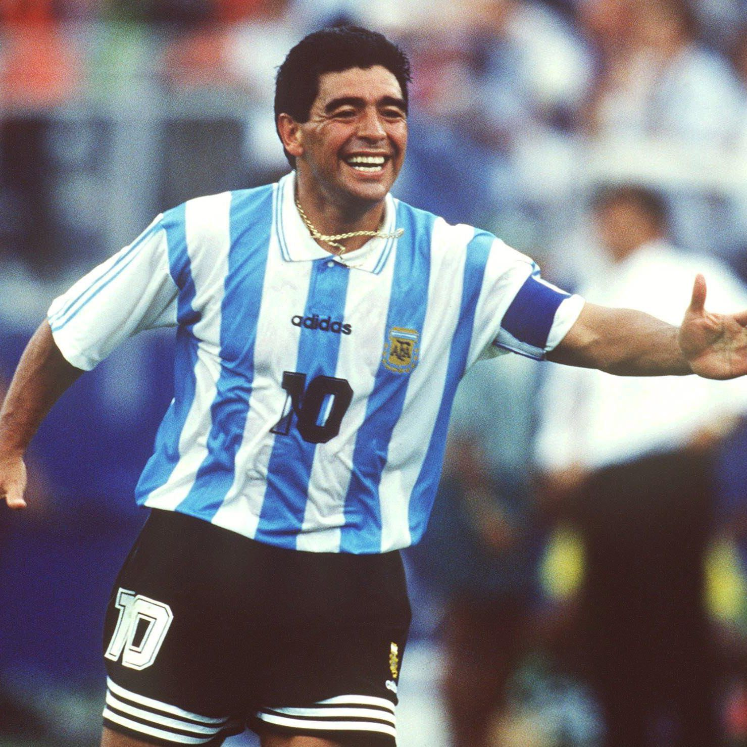 069b1b968 Profile of Soccer Player Diego Maradona