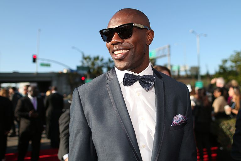 Terrell Owens attends The 57th Annual GRAMMY Awards
