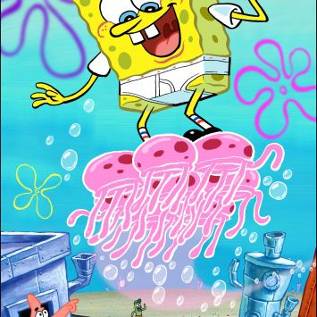 SpongeBob SquarePants - Flying with Jellyfish