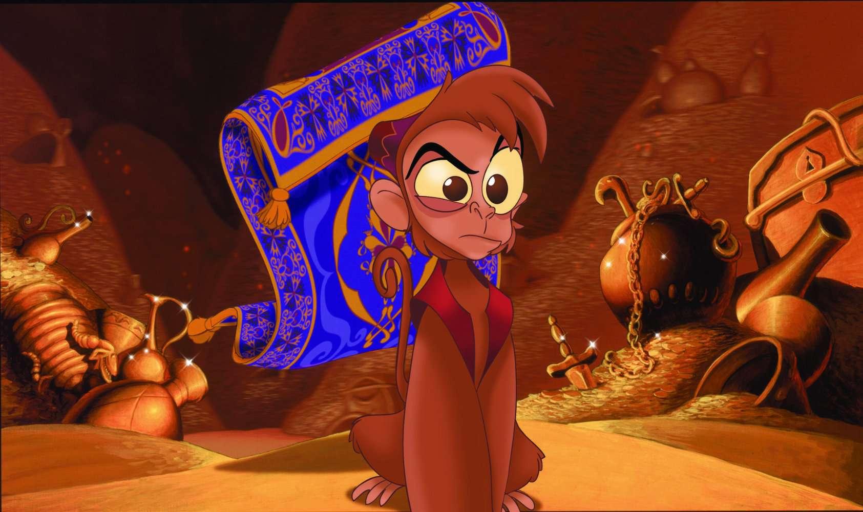 Film still from Aladdin