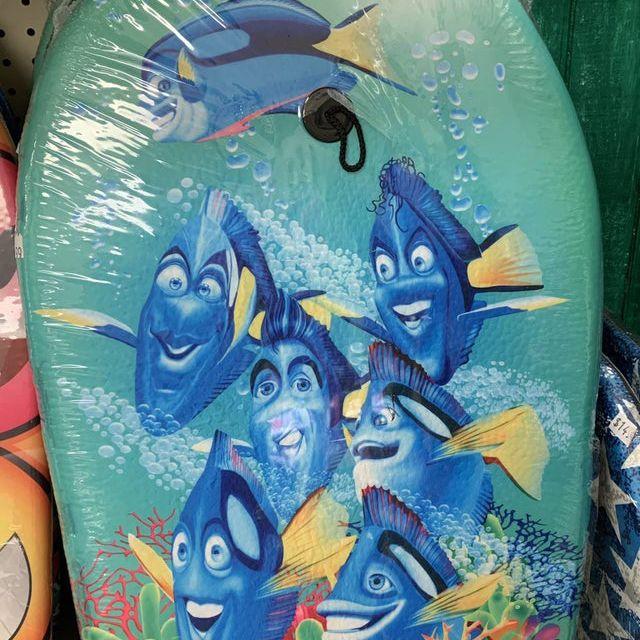 knock off Finding Nemo boogie board
