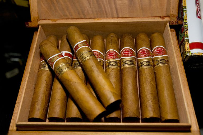 Cuban Churchhill cigars