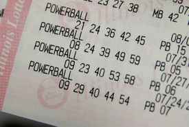 Image of a Powerball Ticket