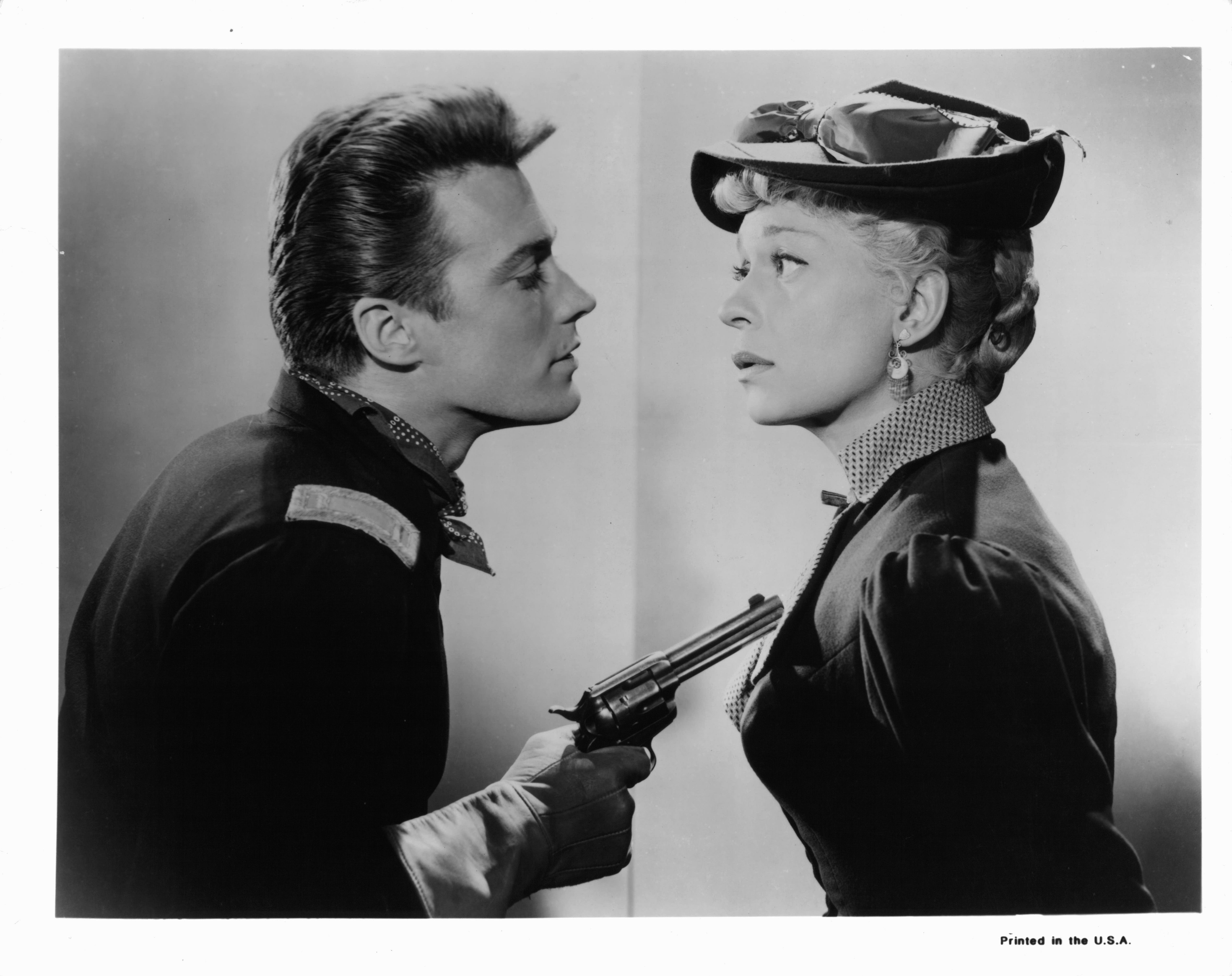 Clint Eastwood And Carol Channing In 'The First Traveling Saleslady'