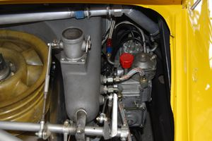 This Porsche fuel injection system is complex, but serviceable.