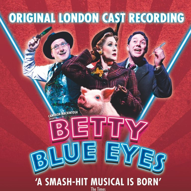 Betty Blue Eyes cast recording
