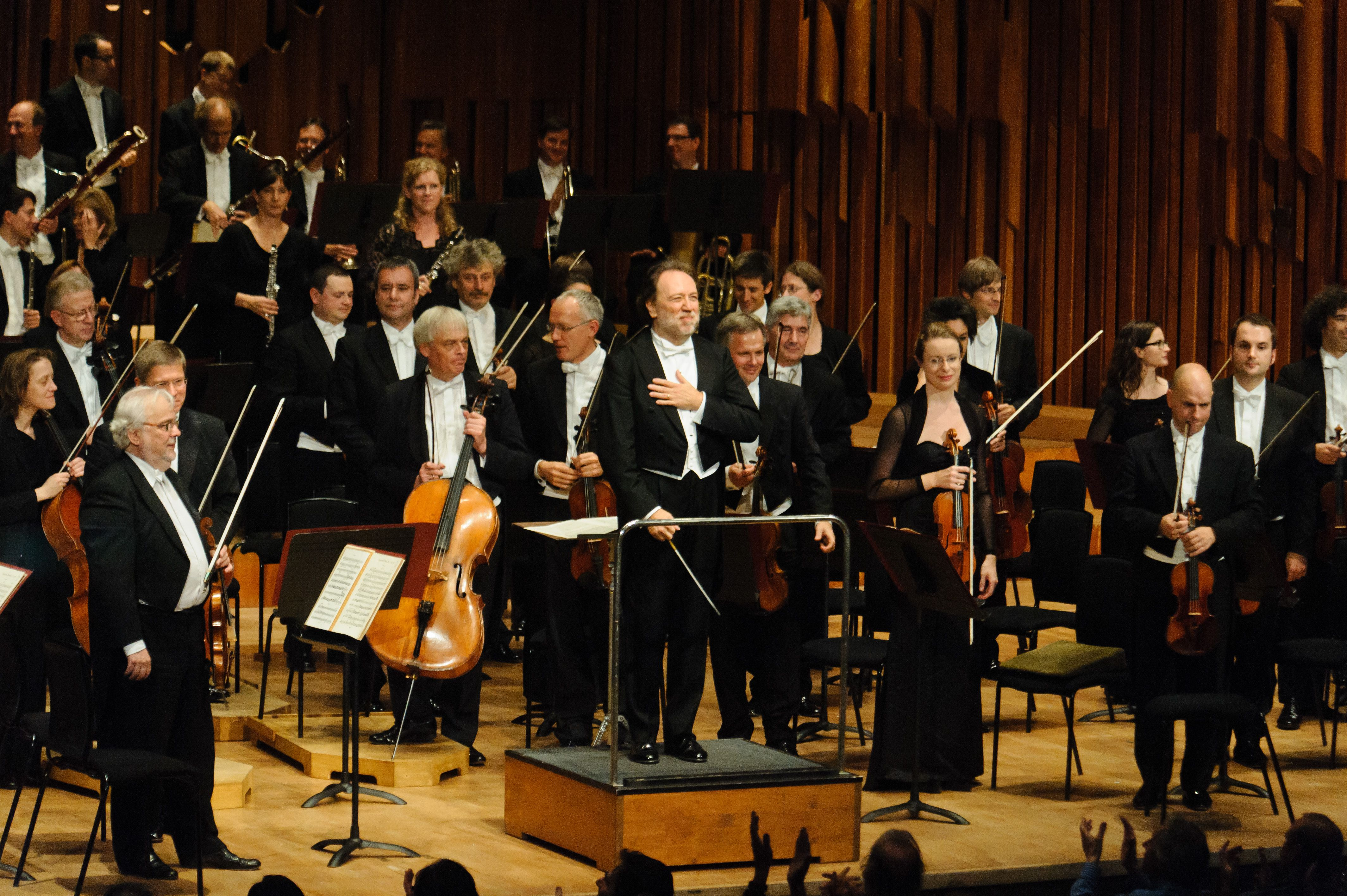The Leipzig Gewandhaus Orchestra Perform At The Barbican In London
