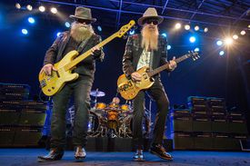 ZZ Top Performs At Humphrey's Concerts By The Bay