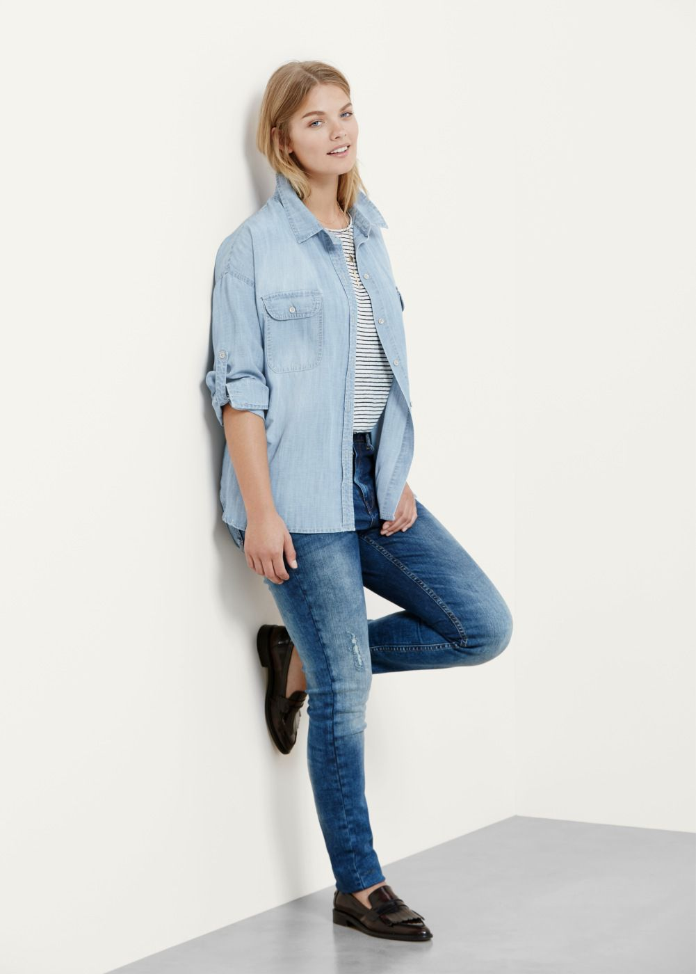 2084c79a441 How to Wear Skinny Jeans if You re Plus Size