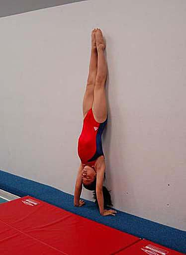 How to Do a Handstand -- Work on Your Body Position
