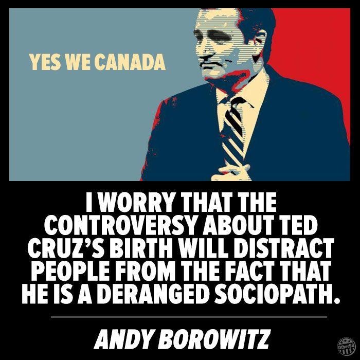 Ted Cruz Distraction