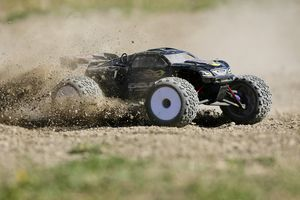 RC Car in dirt