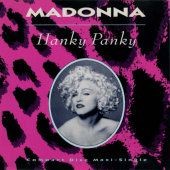 Madonna's Hanky Panky cover