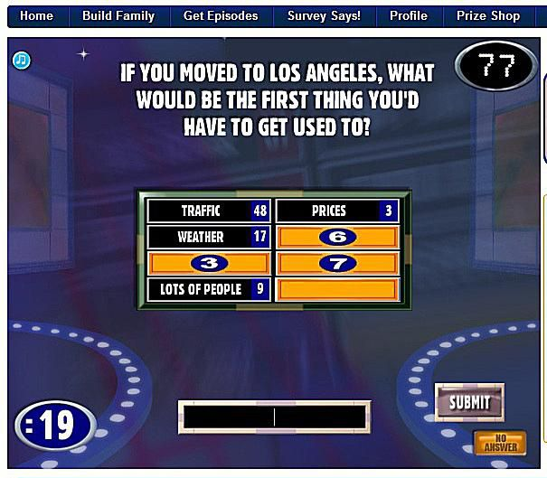 Family Feud Template